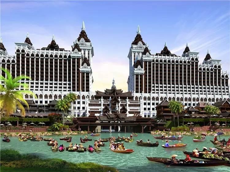 里酒店_澜沧江畔,超五星酒店里的\