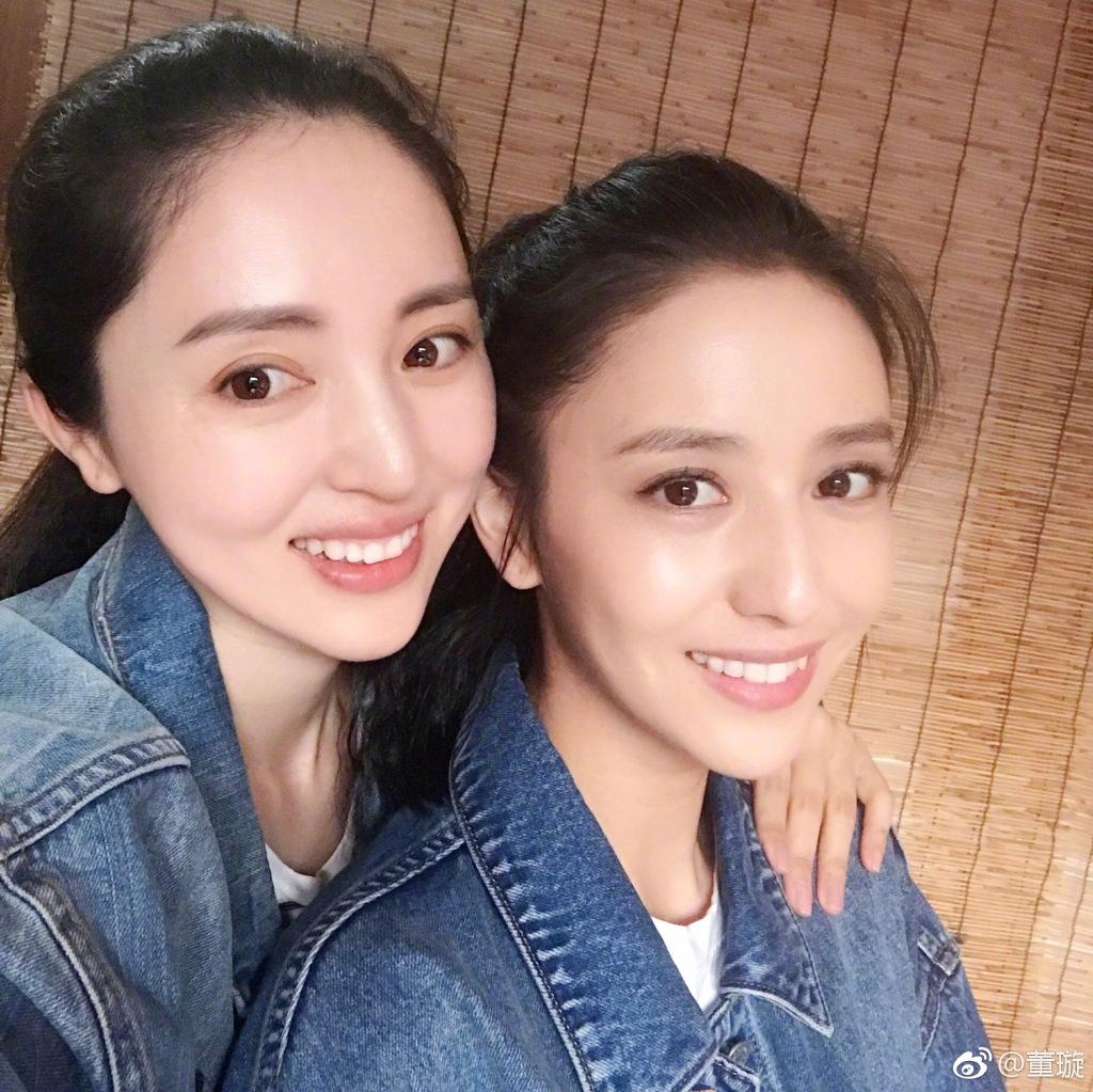 董璇和佟丽娅_李沁孙怡白百何王珞丹 细数长得一模一样的明星